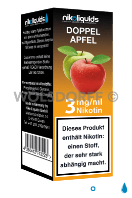 Nikoliquids Doppel Apfel