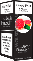 Jack Russell Liquid No 5 Grape Fruit MHD 15.04.2019