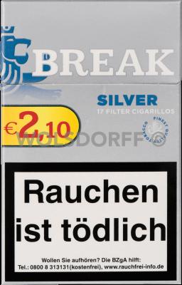 Break Silver Filtercigarillo Eco 17er