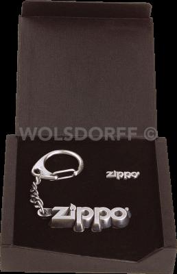 Zippo 1703004 Schlüsselanhänger und Anstecknadel Set