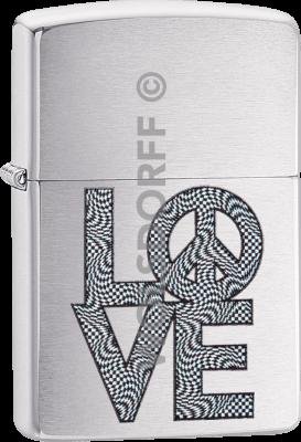 Zippo 60004132 #200 Love and Peace Design