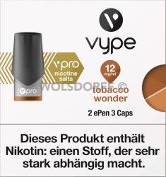 Vype ePEN 3 vPRO CAPS Tobacco Wonder 2er