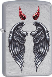 Zippo 60003388 #24647 Wings And Horns Design
