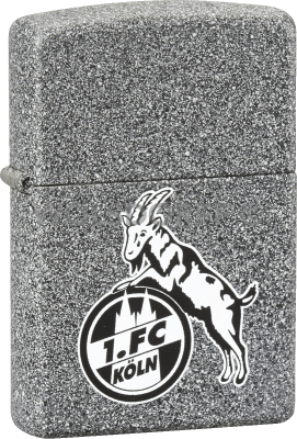 Zippo Iron Stone 1. FC Köln