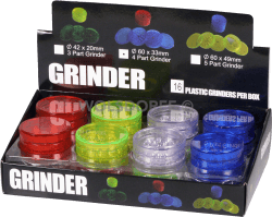 Kunststoff Grinder Sieb+ Behälter