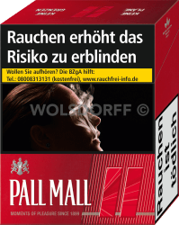 Pall Mall Red Super (5 x 38)