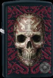 Zippo 60003115 #218 Anne Stokes Skull