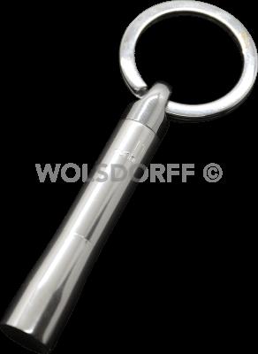 Dunhill Pfeifenstopfer Schlüsselanhänger silberfarben