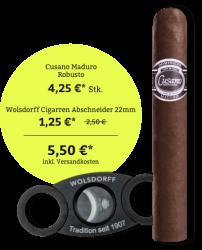 Cusano Maduro Robusto - Cigarren Abschneider