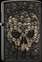 Zippo 2005334 #218 Skulls In Skull