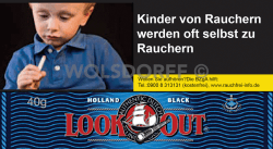 Look Out Holland Black Pouch 10 x 40 g