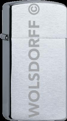 Zippo 60001178 #1600 Slim® Chrome Brushed