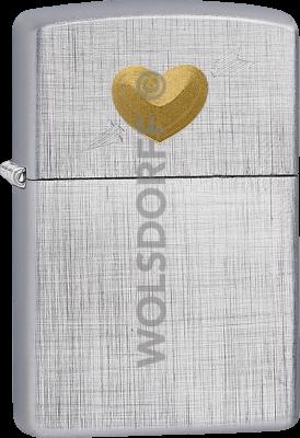 Zippo 60004133 #28181 Heart and Arrow Design