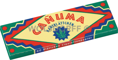 Canuma Hanfblättchen 60er
