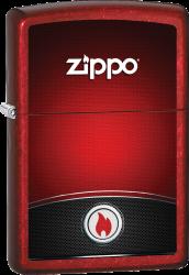 Zippo 60002989 #21063 Red and Black Zippo® Design
