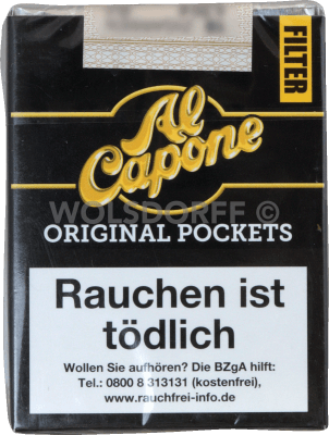 Al Capone Pockets Filter Original 18er