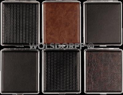 Zigarettenetui KL Chrom Rahmen 18er 606614