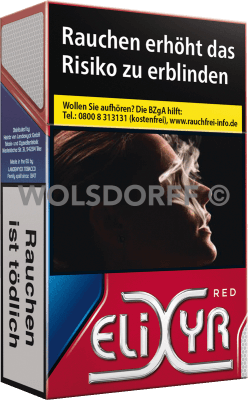 Elixyr Red Cigarettes Original Pack (10 x 20)