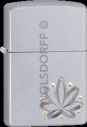 Zippo 60004120 #205 Weed 2Toned Design