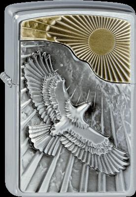 Zippo 2003192 #200 Eagle Sun Fly Emblem