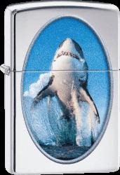 Zippo 60004080 #250 Shark Breaching