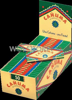 Canuma Hanfblättchen 50 x 60er