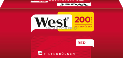 West Red Hülsen 5 x 200er