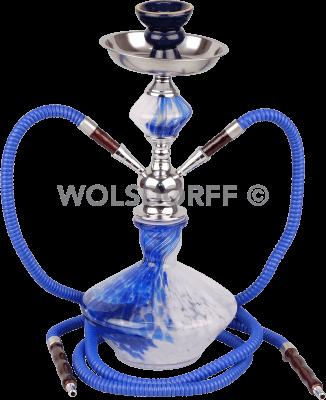 "Wasserpfeife ""BATA"" blau 2er/38cm B-Ware"