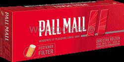 Pall Mall Full Flavour Xtra Hülsen 5 x 200er
