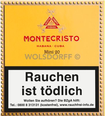 Montecristo Mini Cigarillos 20er