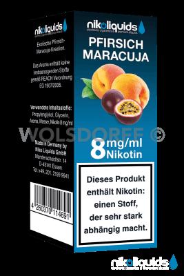 Nikoliquids Pfirsich Maracuja