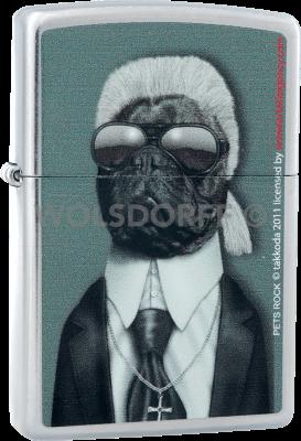 Zippo 810676 Pets Rock Dog Karl Lagerfeld