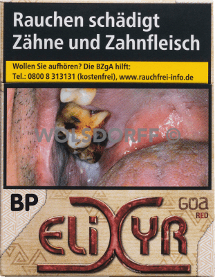 Elixyr Goa Red Cigarettes Big Pack (8 x 23)