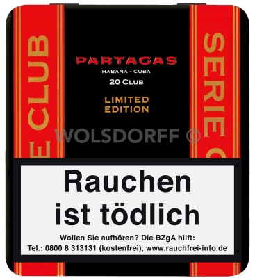 Partagas Serie Club Limited Edition 2020