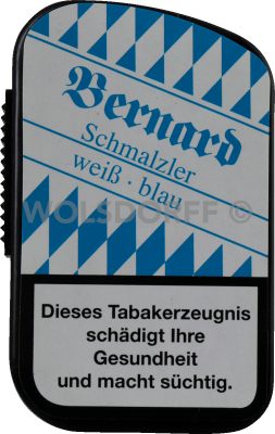 Bernard Schmalzler weiß-blau