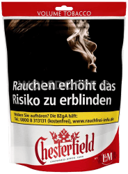 Chesterfield Red Volume Tobacco Beutel 155 g