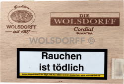 Die WOLSDORFF Cordial Sumatra