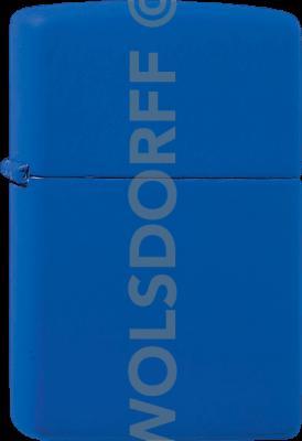 Zippo 60001189 #229 Royal Blue Matte