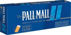 Pall Mall Smooth Xtra Hülsen 5 x 200er