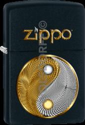 Zippo 60003065 #218 Abstract Yin Yang
