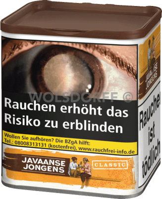 Javaanse Jongens Classic Dose 85 g