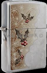 Zippo 60000325 Christmas Holly