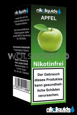 Nikoliquids Apfel