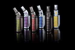 Bugatti Feuerzeug Vulcan verschiedene Farben