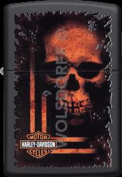 Zippo 60003929 #218 Harley-Davidson® Orange Skull