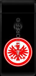 Lichtbogenfeuerzeug schwarz Eintracht Frankfurt
