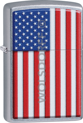 Zippo 60004281 #207 USA-Flag Patriotic