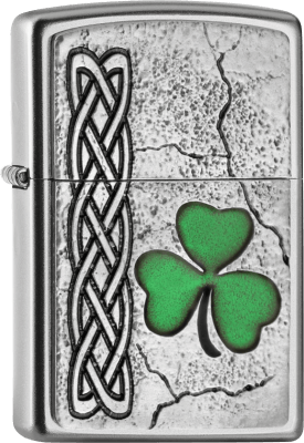 Zippo 2005097 205 Irish Shamrock Emblem