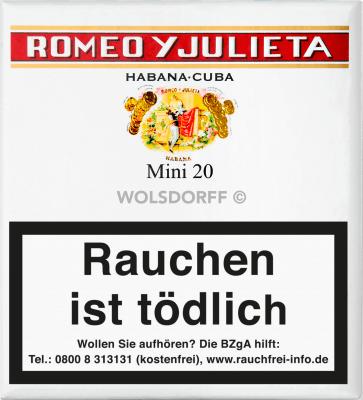 Romeo y Julieta Mini 20er