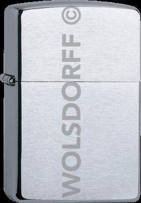Zippo 60000804 #200 Brushed Chrome